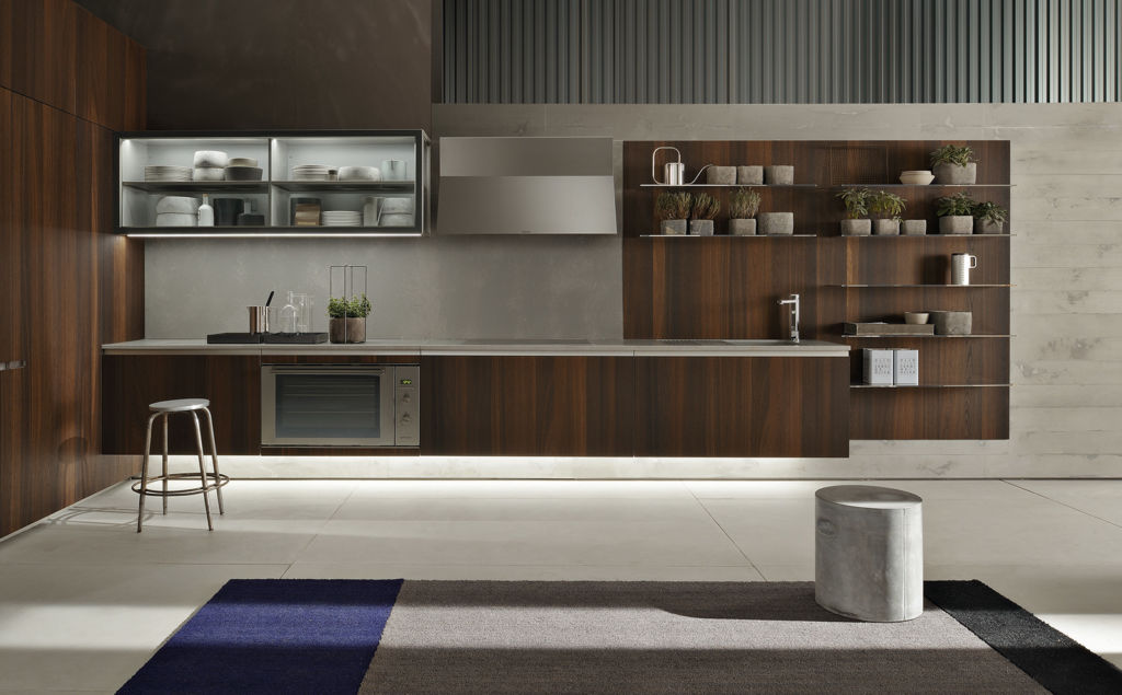 Plenty of space for a genuine kitchen experience ernestomeda does not just make kitchens people can cook in these are kitchens people love to live in