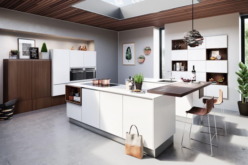 Einer modernen küche zum alltag gehört bei uns kommen sämtliche abläufe aus einer hand das erhöht die genauigkeit und erlaubt ein nahtloses arbeiten
